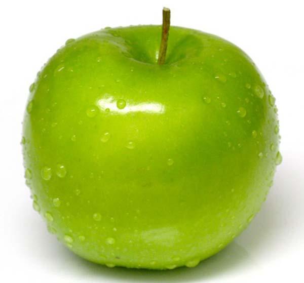 зеленое яблоко фото